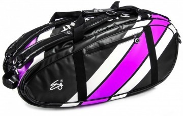 Eye Racket Bag 10R Black / Purple